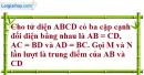 Bài 3.23 trang 150 SBT hình học 11