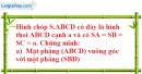 Bài 3.26 trang 151 SBT hình học 11