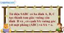 Bài 3.30 trang 151 SBT hình học 11