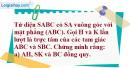 Bài 3.29 trang 151 SBT hình học 11