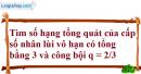 Bài 4.10 trang 157 SBT đại số và giải tích 11