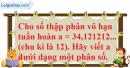 Bài 4.12 trang 157 SBT đại số và giải tích 11