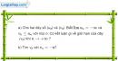 Bài 4.3 trang 156 SBT đại số và giải tích 11