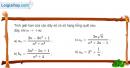 Bài 4.4 trang 156 SBT đại số và giải tích 11