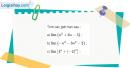 Bài 4.5 trang 156 SBT đại số và giải tích 11