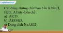 Bài 27.20 trang 65 SBT Hóa học 12