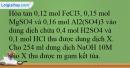Bài 27.23 trang 65 SBT Hóa học 12