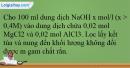 Bài 27.24 trang 65 SBT Hóa học 12
