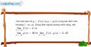 Bài 4.21 trang 165 SBT đại số và giải tích 11