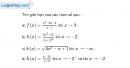 Bài 4.22 trang 165 SBT đại số và giải tích 11