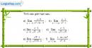 Bài 4.23 trang 165 SBT đại số và giải tích 11