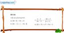 Bài 6 trang 62 SGK Đại số 10