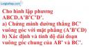 Bài 3.35 trang 160 SBT hình học 11