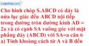 Bài 3.36 trang 160 SBT hình học 11