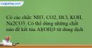 Bài 29.7 trang 69 SBT Hóa học 12