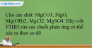 Bài 28.9 trang 67 SBT Hóa học 12