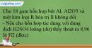 Bài 29.14 trang 70 SBT Hóa học 12