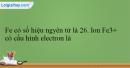 Bài 31.1; 31.2; 31.3; 31.4; 31.5; 31.6 trang 71 SBT Hóa học 12