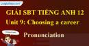 Pronunciation - trang 27 Unit 9 SBT Tiếng anh 12 mới