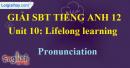 Pronunciation - Unit 10 SBT Tiếng anh 12 mới