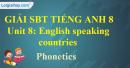 Phonetics – Unit 8 SBT Tiếng Anh 8 mới