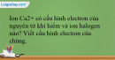 Bài 28.10 trang 67 SBT Hóa học 12