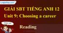 Reading - trang 30 Unit 9 SBT Tiếng anh 12 mới