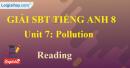 Reading – Unit 7 SBT Tiếng Anh 8 mới