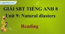 Reading – Unit 9  SBT Tiếng Anh 8 mới