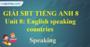 Speaking – Unit 8 SBT Tiếng Anh 8 mới