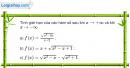 Bài 4.24 trang 166 SBT đại số và giải tích 11