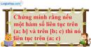 Bài 4.34 trang 171 SBT đại số và giải tích 11
