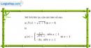 Bài 4.36 trang 171 SBT đại số và giải tích 11