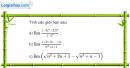 Bài 4.47 trang 172 SBT đại số và giải tích 11