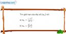 Bài 4.48 trang 173 SBT đại số và giải tích 11