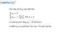 Bài 4.50 trang 173 SBT đại số và giải tích 11