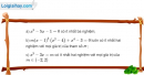 Bài 4.59 trang 174 SBT đại số và giải tích 11