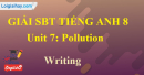 Writing–  Unit 7 SBT Tiếng Anh 8 mới