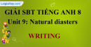 Writing – Unit 9 SBT Tiếng Anh 8 mới