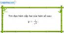 Bài 5.102 trang 215 SBT đại số và giải tích 11