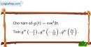 Bài 5.104 trang 216 SBT đại số và giải tích 11