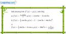 Bài 5.113 trang 217 SBT đại số và giải tích 11