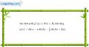 Bài 5.117 trang 217 SBT đại số và giải tích 11
