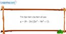 Bài 5.14 trang 202 SBT đại số và giải tích 11