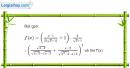 Bài 5.18 trang 202 SBT đại số và giải tích 11