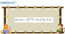 Bài 5.2 trang 198 SBT đại số và giải tích 11