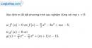 Bài 5.23 trang 203 SBT đại số và giải tích 11