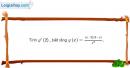 Bài 5.26 trang 203 SBT đại số và giải tích 11