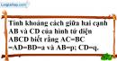 Bài 3.38 trang 160 SBT hình học 11