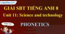 Phonetics – Unit 11 SBT Tiếng Anh 8 mới